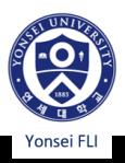 Yonsei University FLI Logo